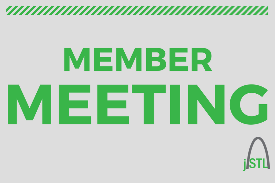 Monthly member meetings are back!